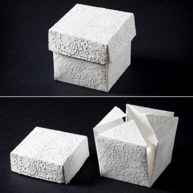 "Bomboniera ""Cubo"" | dimensioni 6x6cm - 8x8cm"